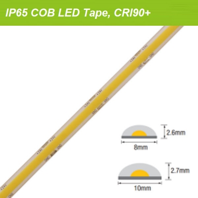 IP65 Waterproof COB strips