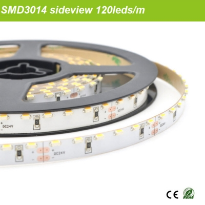 1m 120leds 12V/24V SMD3014 sideview tape