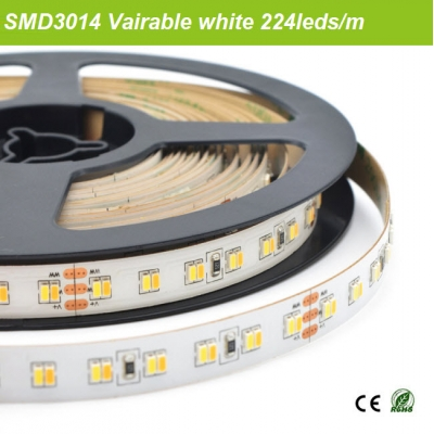 SMD3014 Variable white led strip