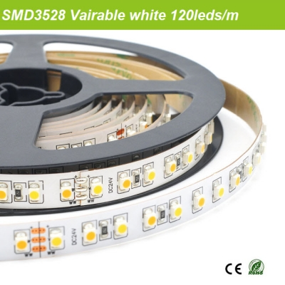 SMD3528 Variable white led strip