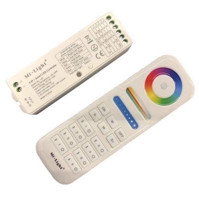 RGBWW 5 colors led controller