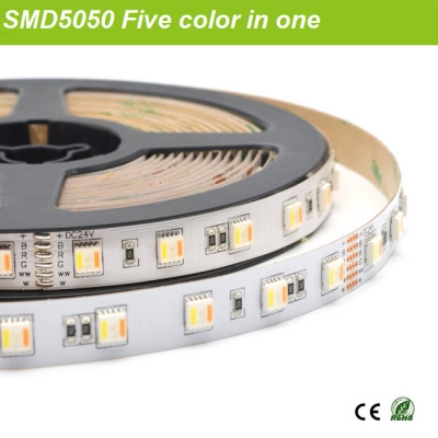 Five color in ONE led strip
