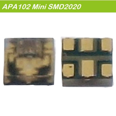 SK9822_APA102_Mini addressable led