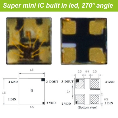 SMD1515 Mini intelligent led