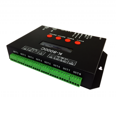 Digital led controller SD card