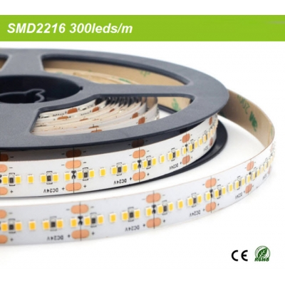 300leds per meter SMD2216 strip