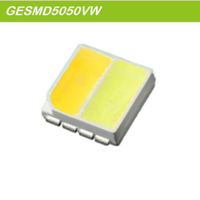 SMD5050 WW/W Dual Color led