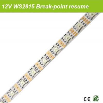 WS2815 break point continuous strip